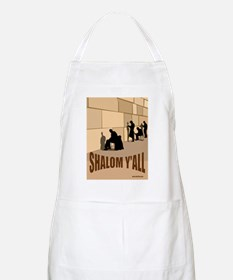 SHALOM Y'ALL AT THE WESTERN W BBQ Apron
