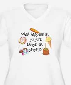 What Happens at YiaYia's... T-Shirt