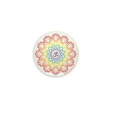 Namaste Lotus Mini Button (10 pack)