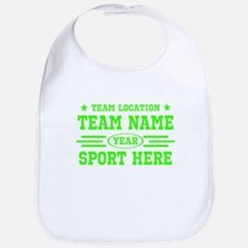 Personalized Your Team Your Text Bib