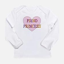 Cute Grand piano Long Sleeve Infant T-Shirt