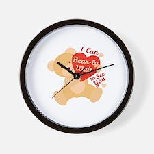 Can Bear-ly Wait Wall Clock