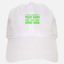 Personalized Your Team Your Text Baseball Baseball Baseball Cap