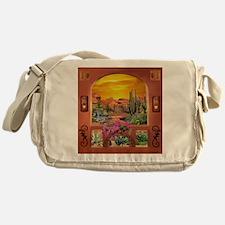 Sonoran Desert Landscape Messenger Bag