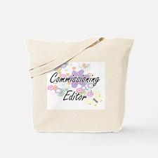 Commissioning Editor Artistic Job Design Tote Bag