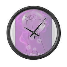 Keanu Blye Designs Large Wall Clock
