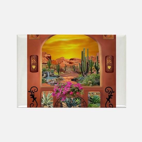 Sonoran Desert Landscape Magnets