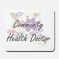 Community Health Doctor Artistic Job Des Mousepad