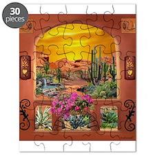 Sonoran Desert Landscape Puzzle