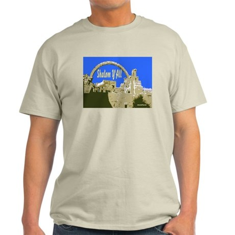Shalom Y'all Jerusalem Light T-Shirt