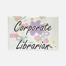 Corporate Librarian Artistic Job Design wi Magnets
