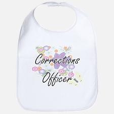 Corrections Officer Artistic Job Design with F Bib