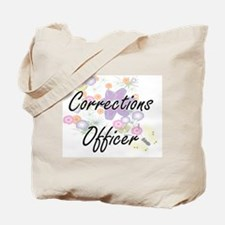 Corrections Officer Artistic Job Design w Tote Bag