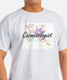 Cosmetologist Artistic Job Design with Flo T-Shirt