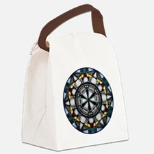 Cool Mandala owl Canvas Lunch Bag