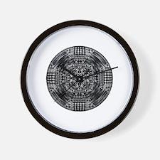 Funny Abstract circles Wall Clock
