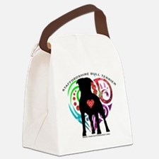 SBT hearts Canvas Lunch Bag