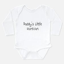 Funny Funeral director Long Sleeve Infant Bodysuit