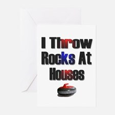 I Throw Rocks At Houses Greeting Cards (Pk of 20)