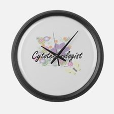 Cytotechnologist Artistic Job Des Large Wall Clock