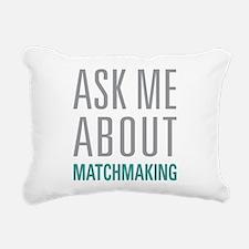 Matchmaking Rectangular Canvas Pillow
