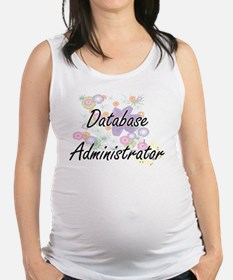 Database Administrator Artistic Maternity Tank Top