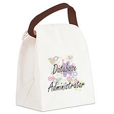 Database Administrator Artistic J Canvas Lunch Bag
