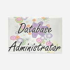 Database Administrator Artistic Job Design Magnets