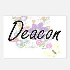 Deacon Artistic Job Desig Postcards (Package of 8)
