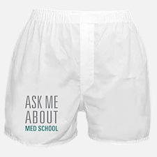 Med School Boxer Shorts