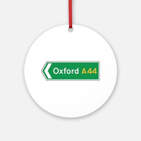 Oxford Roadmarker, UK Ornament (Round)