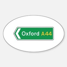 Oxford Roadmarker, UK Oval Decal