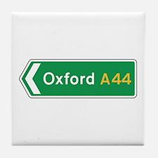Oxford Roadmarker, UK Tile Coaster