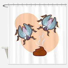 Cute Fly boy Shower Curtain