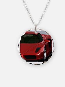 Cute Motorsport design Necklace