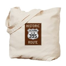 Historic Route 395 Tote Bag