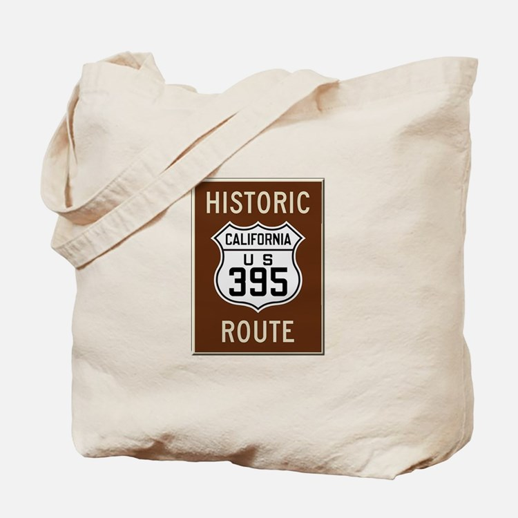 Historic Route 395 Tote Bag
