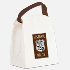 Historic Route 395 Canvas Lunch Bag