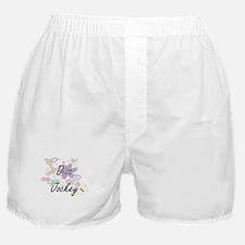 Disc Jockey Artistic Job Design with Boxer Shorts