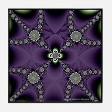 """""""Violets"""" Tile Coaster"""