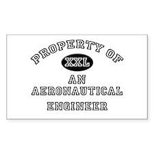 Property of an Aeronautical Engineer Decal
