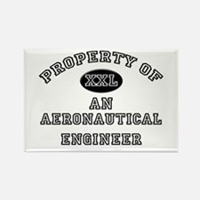 Property of an Aeronautical Engineer Rectangle Mag