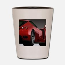 Cute Sports car Shot Glass