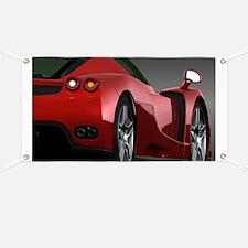 Cute Sports car Banner