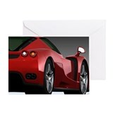 Sports car Greeting Cards