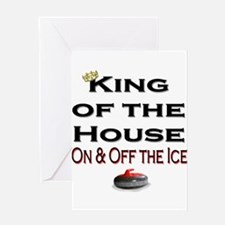 King of the House2 Greeting Card