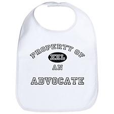 Property of an Advocate Bib
