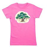 Banyan tree Girl's Dark T-Shirt