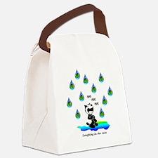 Cute Felix Canvas Lunch Bag