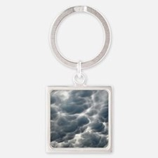STORM CLOUDS 2 Square Keychain